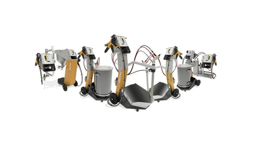 ТОП модели оборудования для порошковой окраски